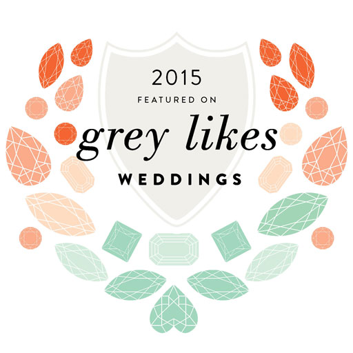 As Seen on Grey Likes Weddings