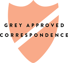 Grey Approved Correspondence