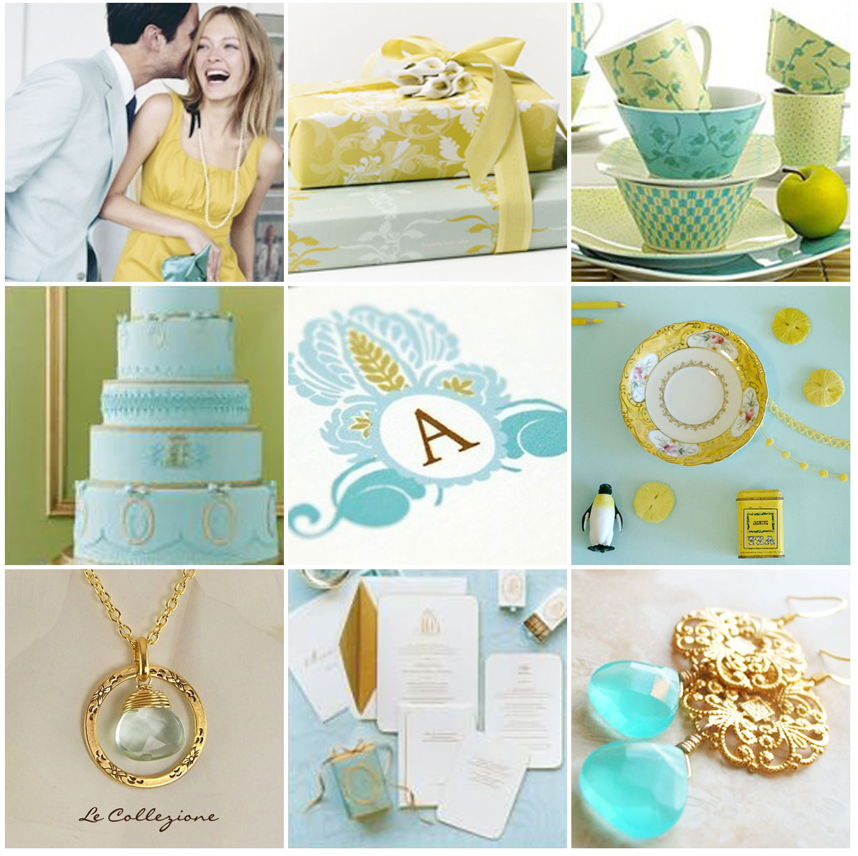 Wedding Blog Yellow and Ocean
