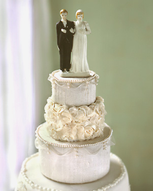 Wedding Blog Cake Topper