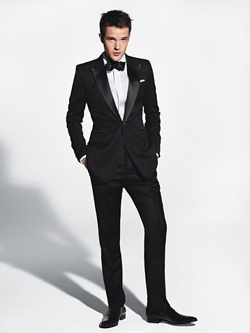 Wedding Blog GQ Takes on The Tux