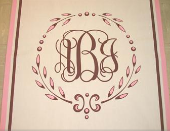 Wedding Blog DIY(ish) Friday: Monogram Aisle Runner