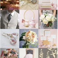 Inspiration Request: Grey, Gold and Blush