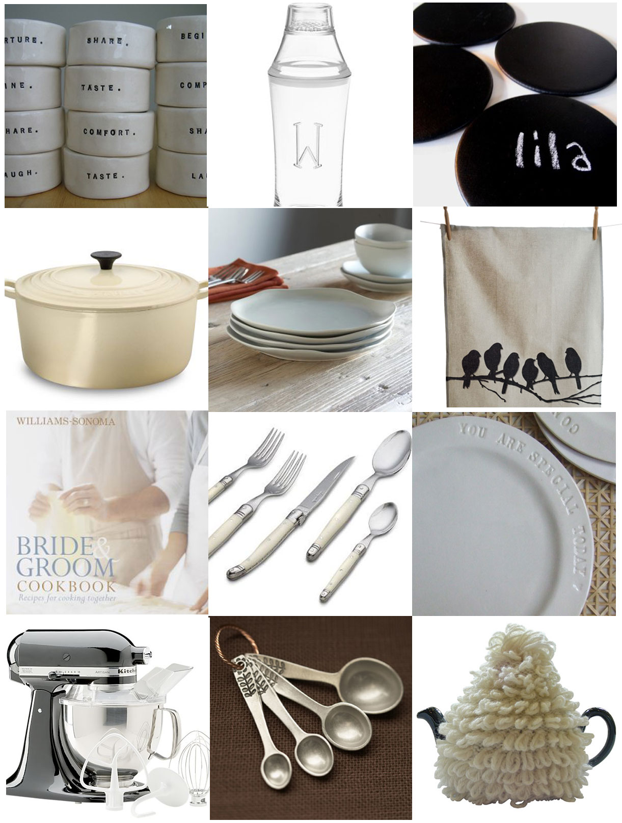 Wedding Blog Kitchen Registry & Shower