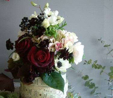 DIY Flowers from Design Sponge and Saipua
