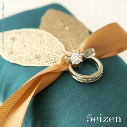 Wedding Blog Ring Pillows