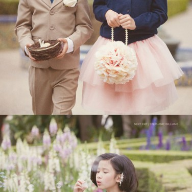 Real Wedding: Navy & Pink