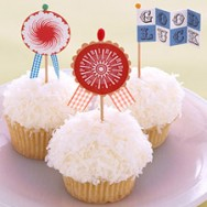 DIY: Cupcake Flags