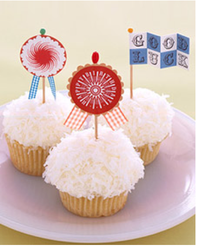 cupcake flags diy cupcake flags red white blue