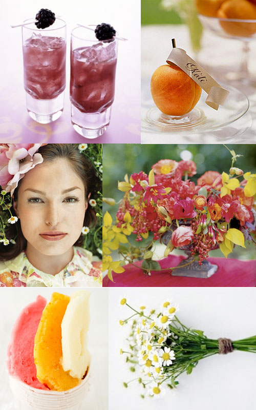 Wedding Blog Inspiration: Pink and Orange
