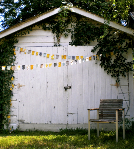 Wedding Blog DIY Friday: No Sew Garland