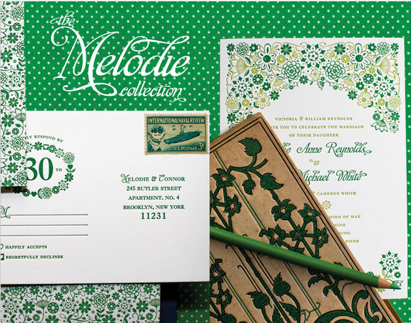 Wedding Blog Thoughtful Day: The Melodie Collection