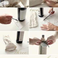 DIY Wine Wrap