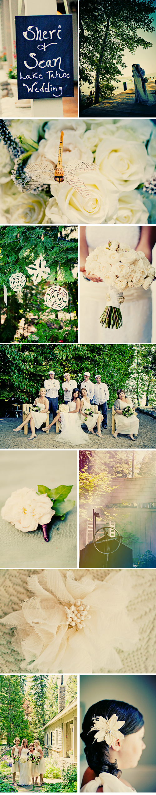 Wedding Blog Real Wedding: Lake Tahoe