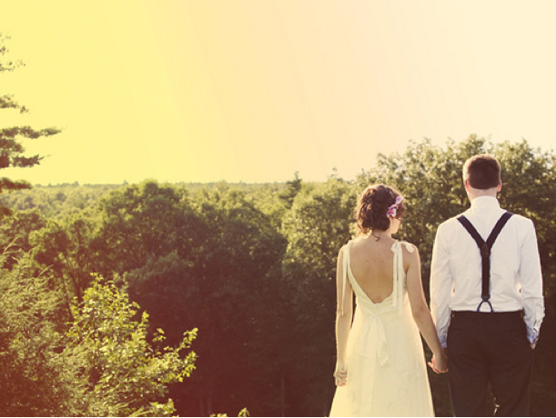 Wedding Blog Real Wedding: Marri and Drew