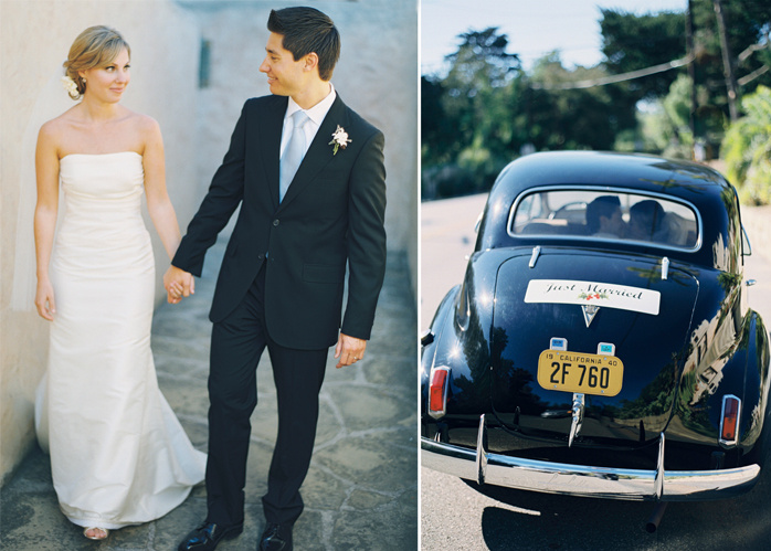 Wedding Blog Real Wedding: Montecito Estate