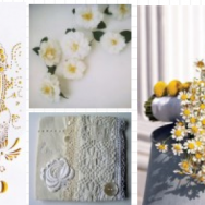 Yellow and Eyelet