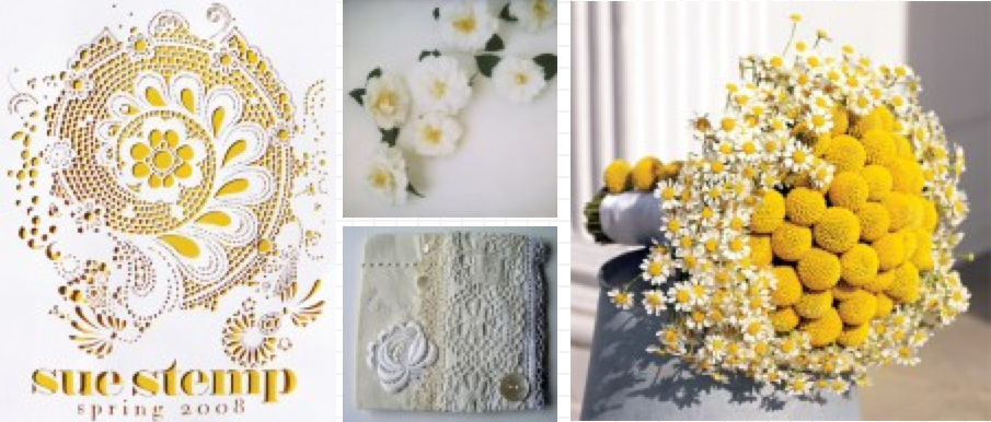 Wedding Blog Yellow and Eyelet