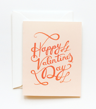 Wedding Blog Valentines from Rifle Paper Co.