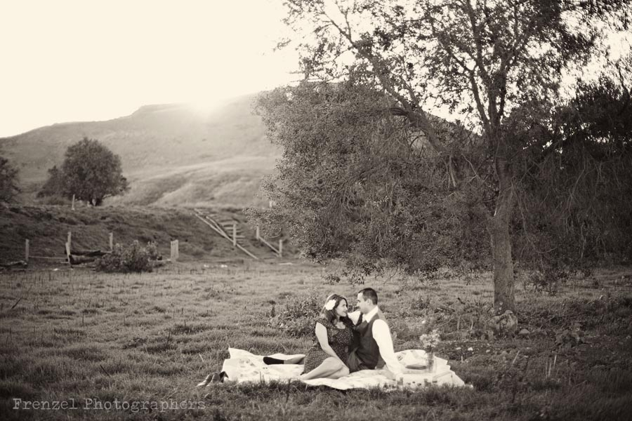 Wedding Blog Vintage Engagement Session: Dianne and Juan
