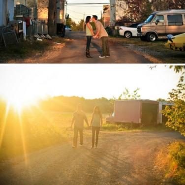 Engaged: Mel and Ryan
