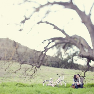 Engaged: Under a Tree