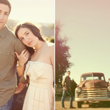 Vintage Engagement Session