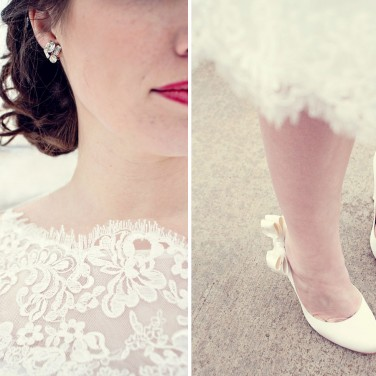 Snowy Bridal Session