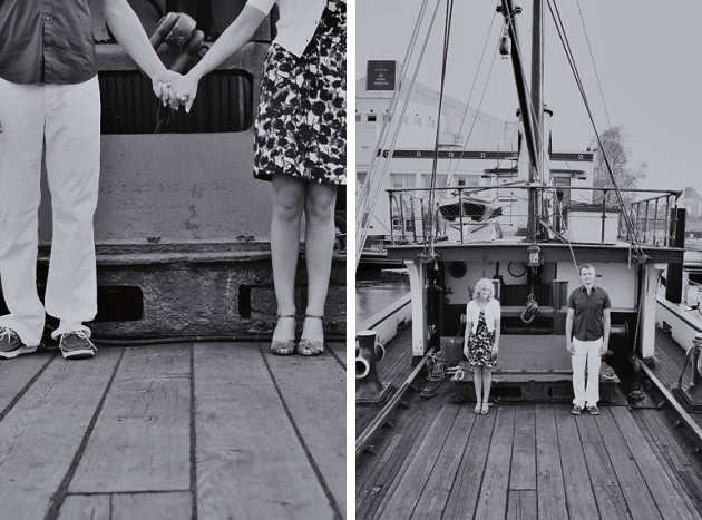 Wedding Blog Julie and Mike: A Nautical Engagement