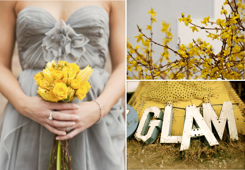 Wedding Blog Grey Likes Yellow and Grey of course Sources 1