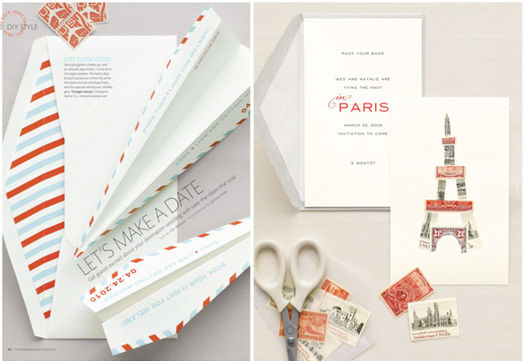 Wedding Blog Found: Airmail Envelopes