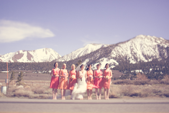 Wedding Blog Real Wedding: Jen and Toffy in Mammoth