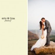 Real Wedding: Eric and Lina