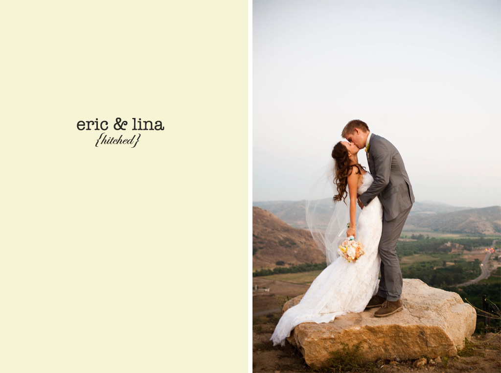 Wedding Blog Real Wedding: Eric and Lina