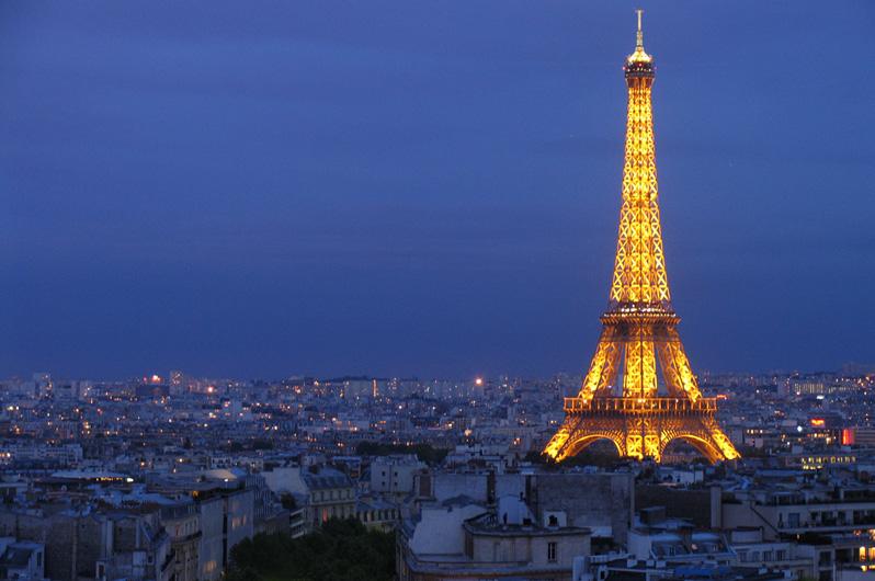 Paris France At Night Wallpaper. tower paris, france,