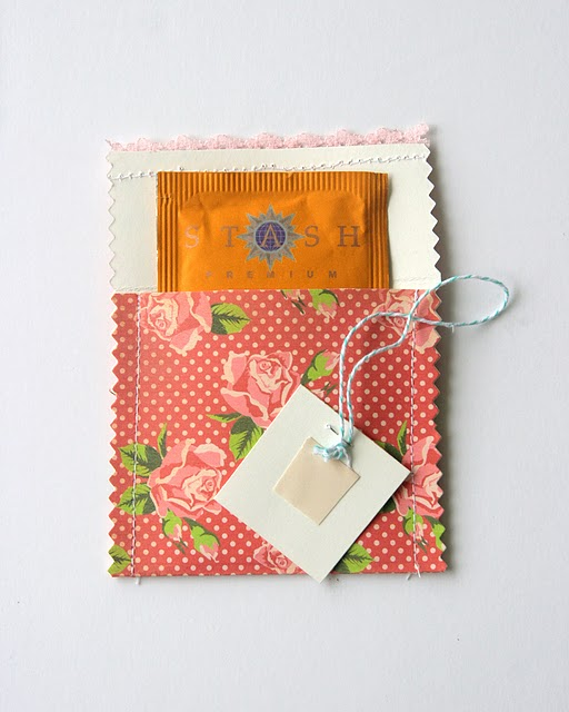 Wedding Blog DIY Friday: Tea Envelopes