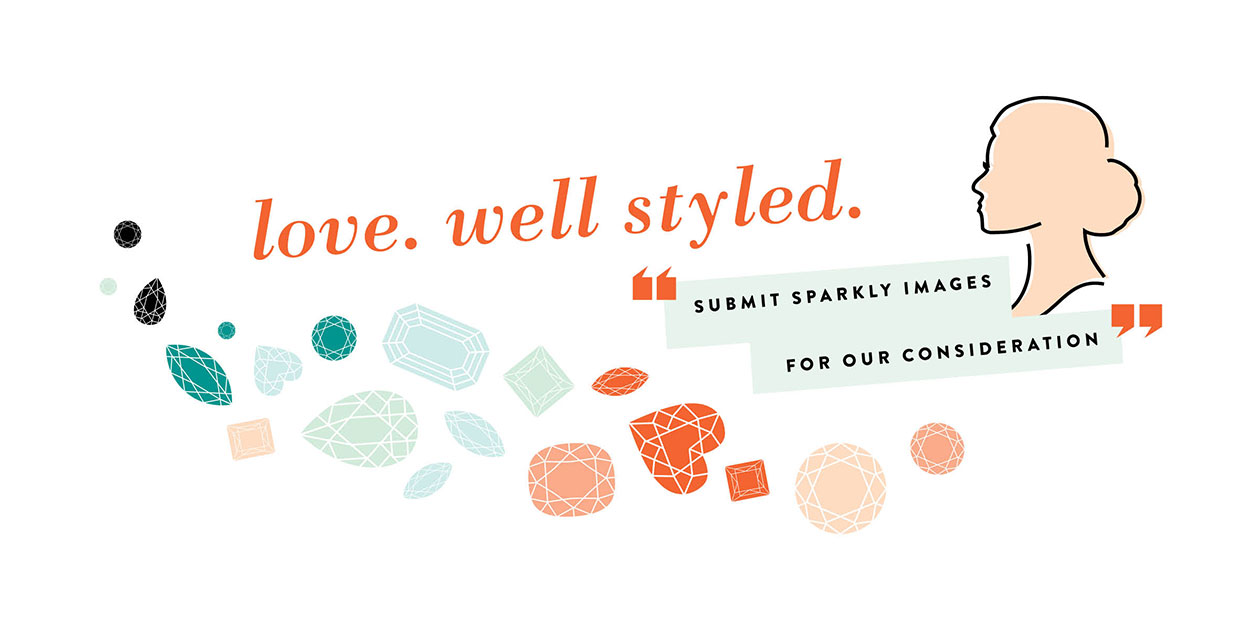 Love. Well styled. Submit sparkly images for our consideration.