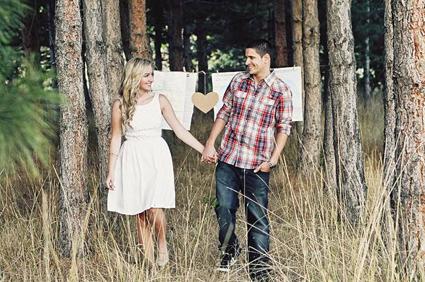 Wedding Blog Save the Date Winner