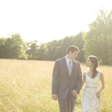 Real Wedding: Laramie and Mark