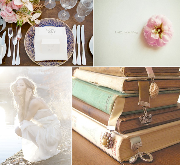 Wedding Blog Book Lover