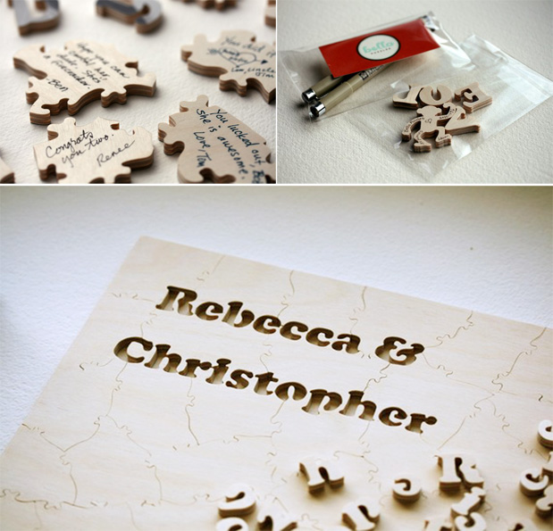 Wedding Blog Puzzle Guest Book!