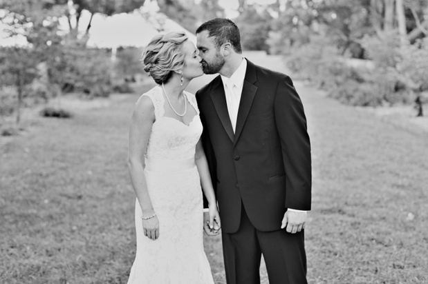 Wedding Blog Real Wedding: Meredith and Ben