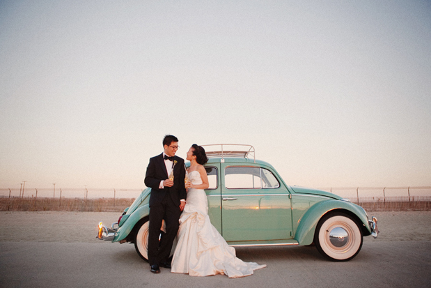 Wedding Blog VW Bug Love: Sharon and Alex