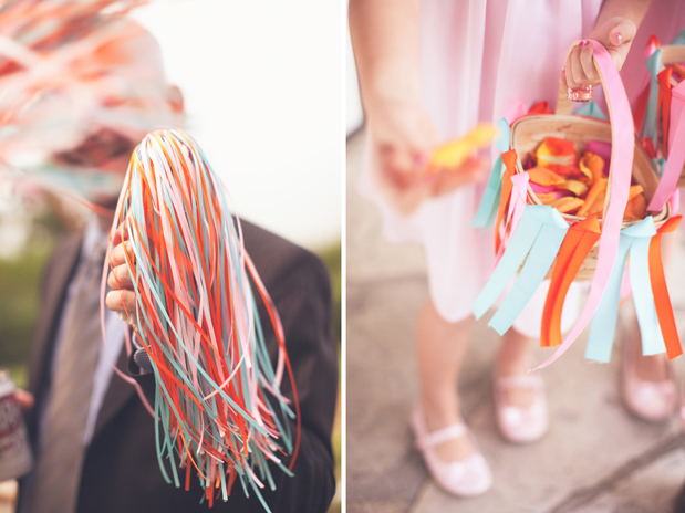 Wedding Blog Love Streamers: Vanessa and Adam