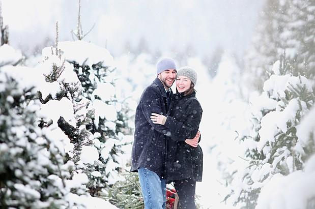 Wedding Blog Sarah and Brodys First Christmas Tree