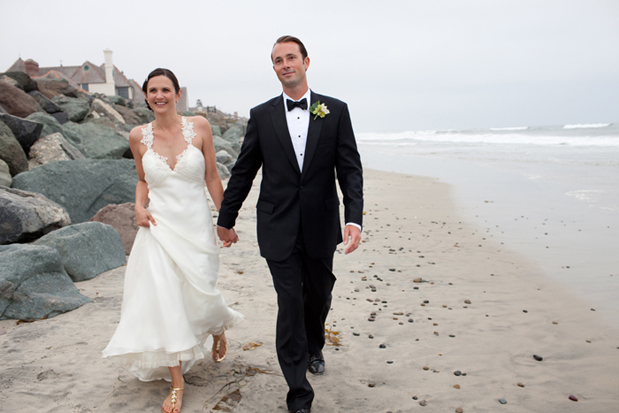 Wedding Blog Seaside Romance: Jaclyn and James