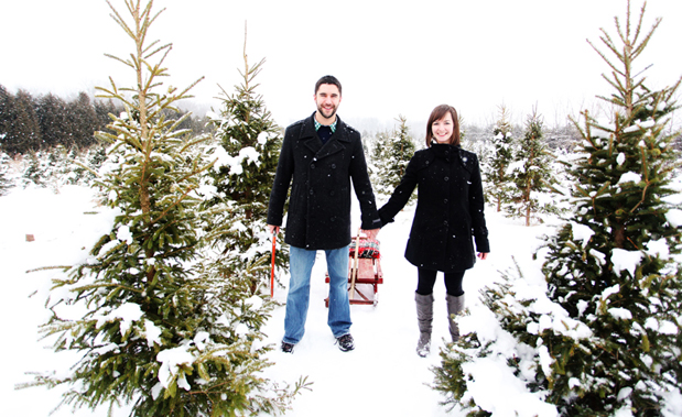 Wedding Blog Sarah and Brodys First Christmas Tree