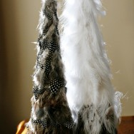 DIY: Holiday Feathers
