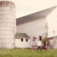 Engaged on a Farm: Jamie and Doug