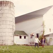 Engaged on a Farm: Jamie and Doug